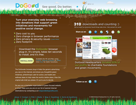 DoGood – The Future of Online Advertising?