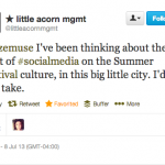 Social Media and Festivals: Distraction or Necessity?